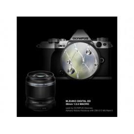 Olympus M.ZUIKO DIGITAL ED 30mm 1:3.5 Macro / EM-M3035 BLK