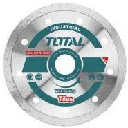 TOTAL - Disc diamantat continuu - ceramica - umed - 230mm (INDUSTRIAL)