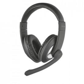 TRUST Reno Headset w/adjustable microphone 2x Jack 3.5
