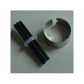 Wacom Black 5 Nibs + Remover, Bamboo
