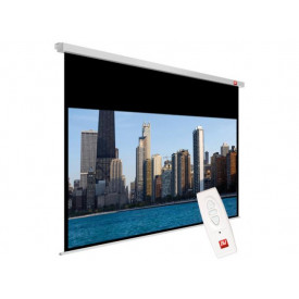 Avtek Video Electric 200 (projection area 195x146cm; 4:3; Matt-White; black borders)