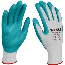 Manusi de protectie - nitril + textil - XL