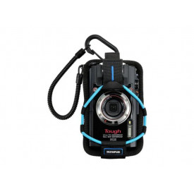 OLYMPUS CSCH-123 TG Camera Case blue (Sport Holder)