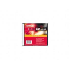 OMEGA OMEGA CD-R 700MB 52X SLIM CASE*1 [56113]