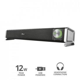 TRUST ASTO SOUND BAR USB PC SPEAKER 6W RMS