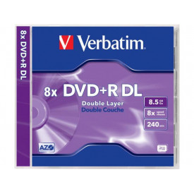 Verbatim DVD+R DOUBLE LAYER 8,5GB