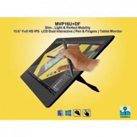Yiynova Monitor interactiv 15.6, IPSl Full HD, Format 16:9; Dual Touch