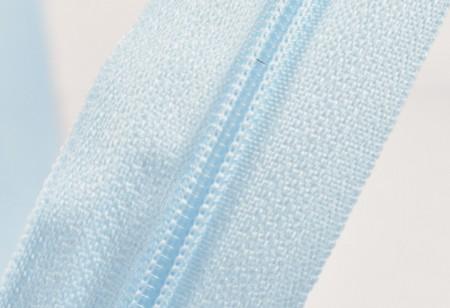 Fermoare nylon fixe nr. 3 - 50 cm, cod 542 bleu