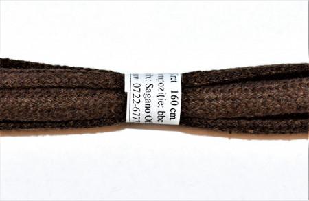 Sireturi bocanci 160 cm late - maro