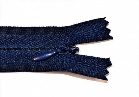 Fermoare ascunse 50 cm - cod 919 bleumarin inchis