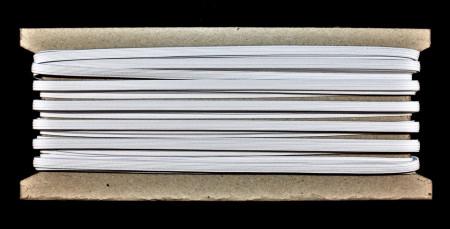 Tresa elastica Eva 5 mm - 20 m / rola alb
