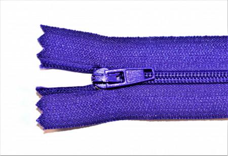Fermoare nylon fixe nr. 3 - 20 cm mov