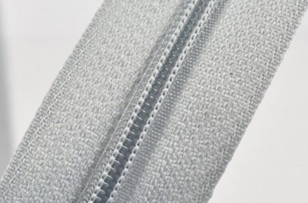Fermoare nylon fixe nr. 3 - 50 cm, cod 343 gri deschis