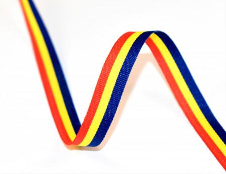 Tricolor 10 mm - 50 m rola
