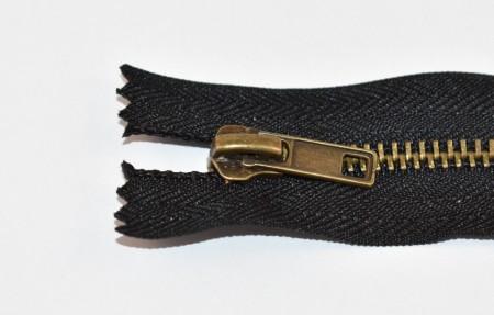 Fermoare metal fixe nr. 5 - 20 cm negru