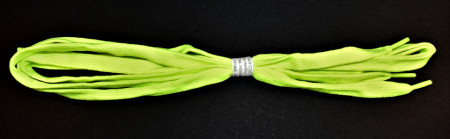 Sireturi 110 cm late - verde neon
