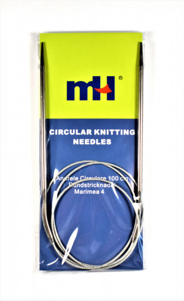 Andrele circulare cu fir metalic - 4 mm