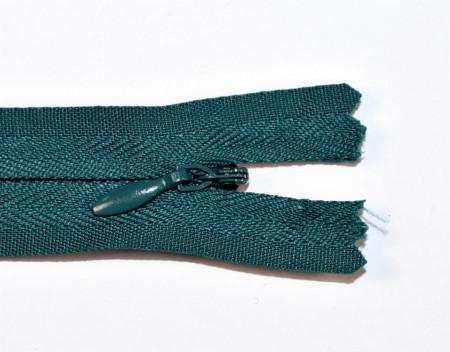 Fermoare ascunse 50 cm - cod 830 verde inchis