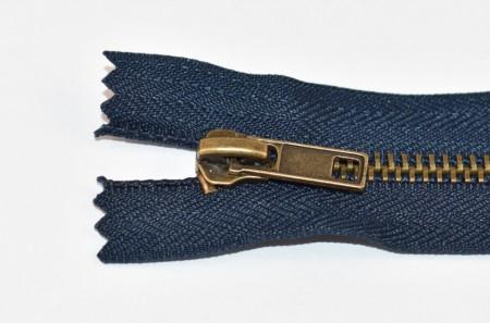 Fermoare metal fixe nr. 5 - 20 cm bleumarin