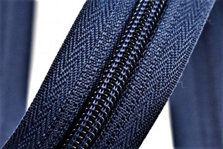 Fermoare nylon detasabil nr. 5 - 70 cm bleumarin