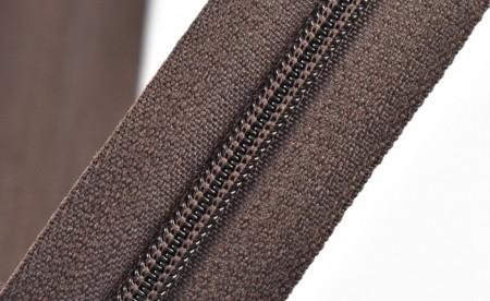 Fermoare nylon fixe nr. 3 - 50 cm, cod 304 maro inchis