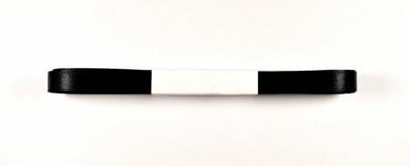 Panglica satin 10 mm -  negru