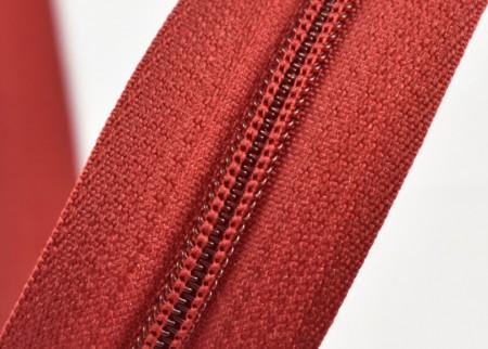 Fermoare nylon fixe nr. 3 - 50 cm, cod 163 visiniu