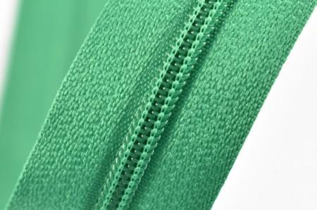 Fermoare nylon fixe nr. 3 - 50 cm, cod 258 verde deschis