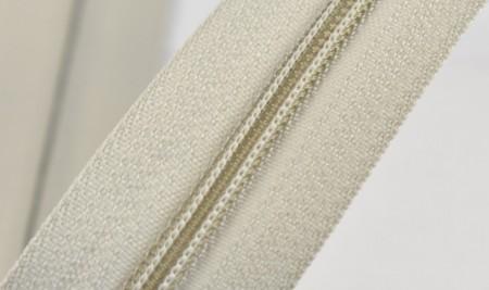 Fermoare nylon fixe nr. 3 - 50 cm, cod 309 gri deschis