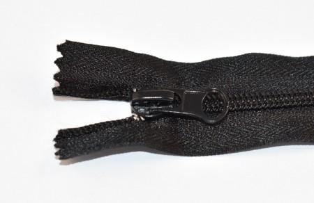 Fermoare nylon fixe nr. 5 - 20 cm negre