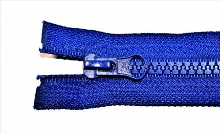 Fermoare plastic detasabile nr. 5 - 70 cm albastru