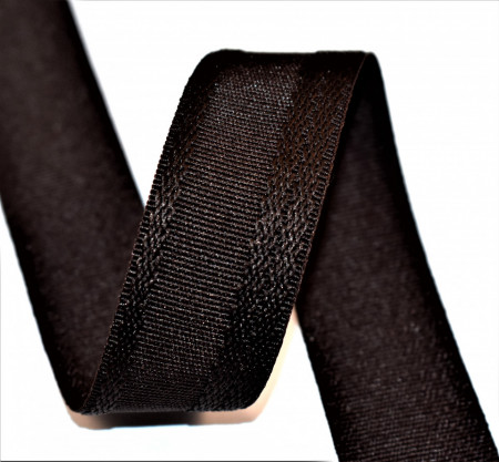 Poze Rejansa fusta Zina 25 mm - maro inchis
