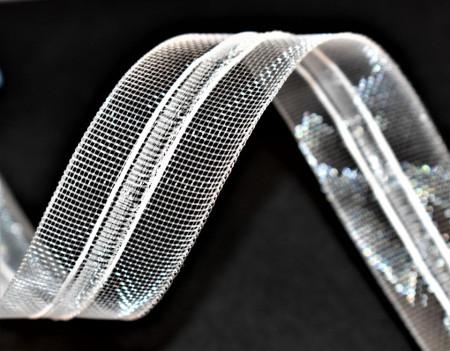 Rejansa perdea transparenta 25 mm / 100 m rola