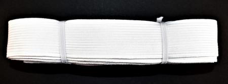 Tresa elastica Eva 40 mm - 10 m / rola alb