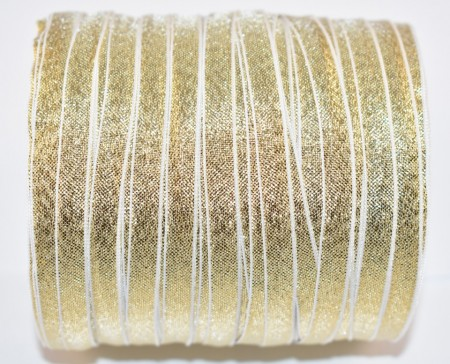 Banda Alexa 6 mm - 100 m rola auriu