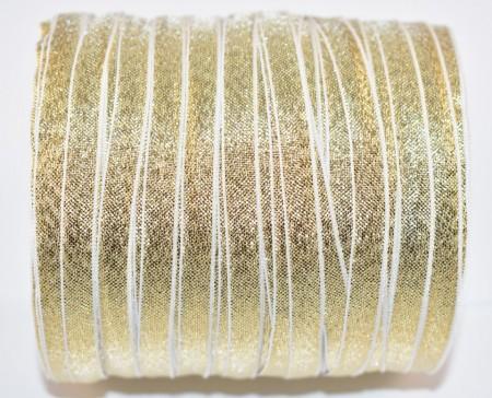 Banda Alexa 6 mm - 200 m rola auriu
