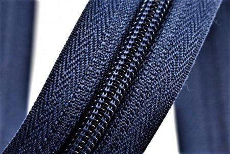 Fermoare nylon detasabil nr. 5 - 50 cm bleumarin