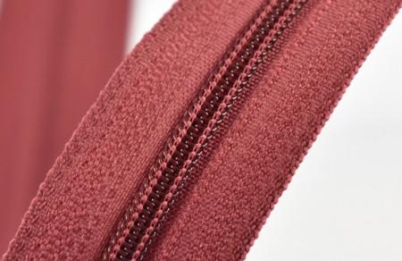 Fermoare nylon fixe nr. 3 - 50 cm, cod 178 burgundy