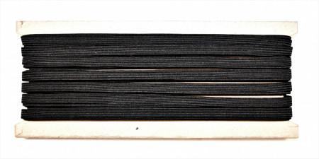 Tresa elastica Eva 6 mm - 20 m / rola negru