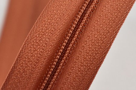 Fermoare nylon fixe nr. 3 - 50 cm, cod 286 caramiziu