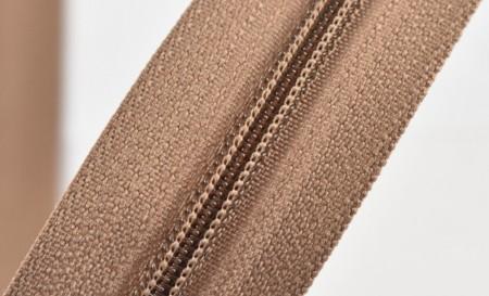 Fermoare nylon fixe nr. 3 - 50 cm, cod 293 bej inchis
