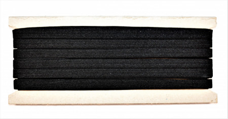 Tresa elastica Eva 8 mm - 20 m / rola negru