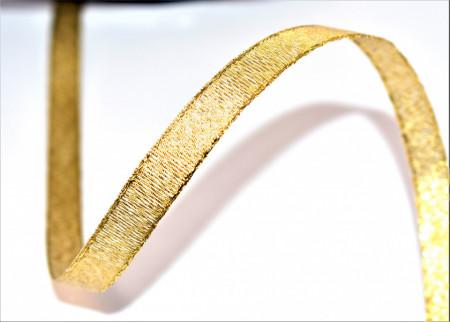 Banda Evelina 10 mm - 50 m rola auriu