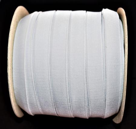 Elastic David 14 mm alb - 50 m rola