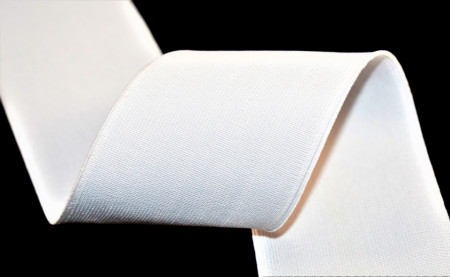 Elastic Moise 30 mm alb - 25 m rola