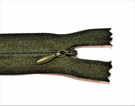 Fermoare ascunse 50 cm - cod 327 kaki