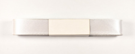 Panglica satin 20 mm - 10 m rola alb