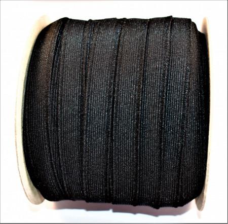 Elastic David 14 mm negru - 50 m rola