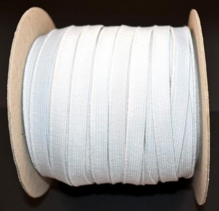 Elastic David 9 mm alb - 50 m rola