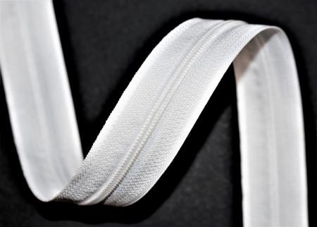 Fermoar metraj nr. 3 - 200 m rola alb + 200 cursori
